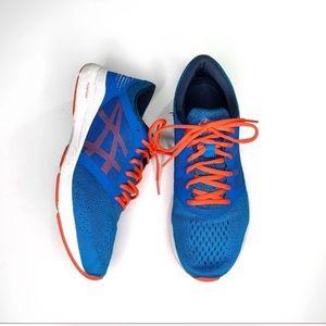 ASICS Men's Roadhawk FF Blue Running Shoes 11
